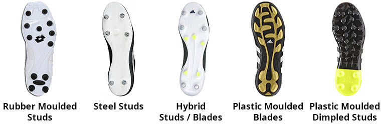 9a5359249693c The bladed cleat has an increased surface area when compared with a conical  stud and is designed to increase traction and reduce slip.