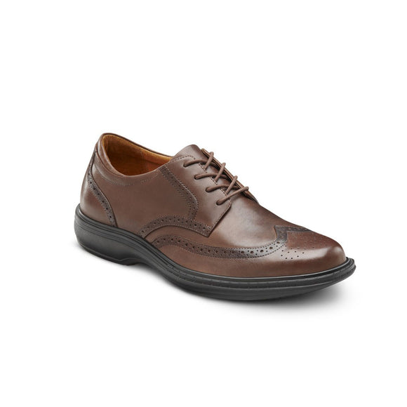 Dr. Comfort Wing | Men's | Chestnut
