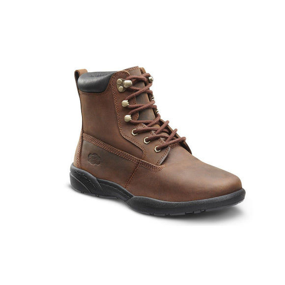 Dr Comfort Boss Boot Chestnut