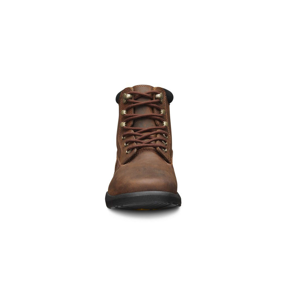 Dr Comfort Boss Boot Chestnut Front