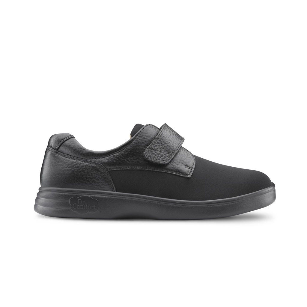 Dr Comfort Brian-X Black Outside