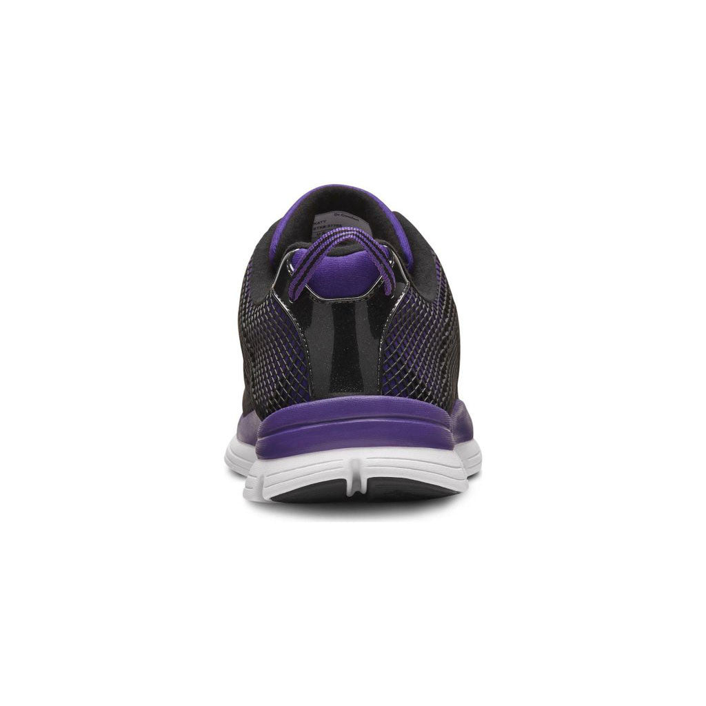 Dr Comfort Katy Purple Back