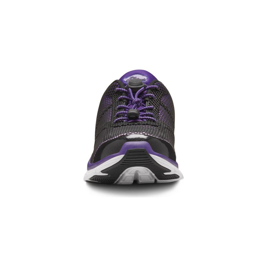 Dr Comfort Katy Purple Front
