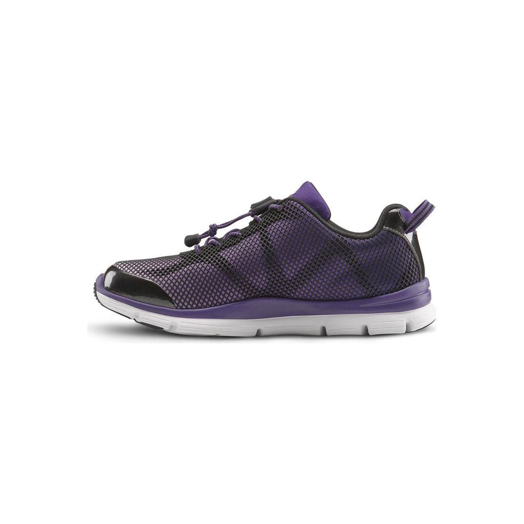 Dr Comfort Katy Purple Inside