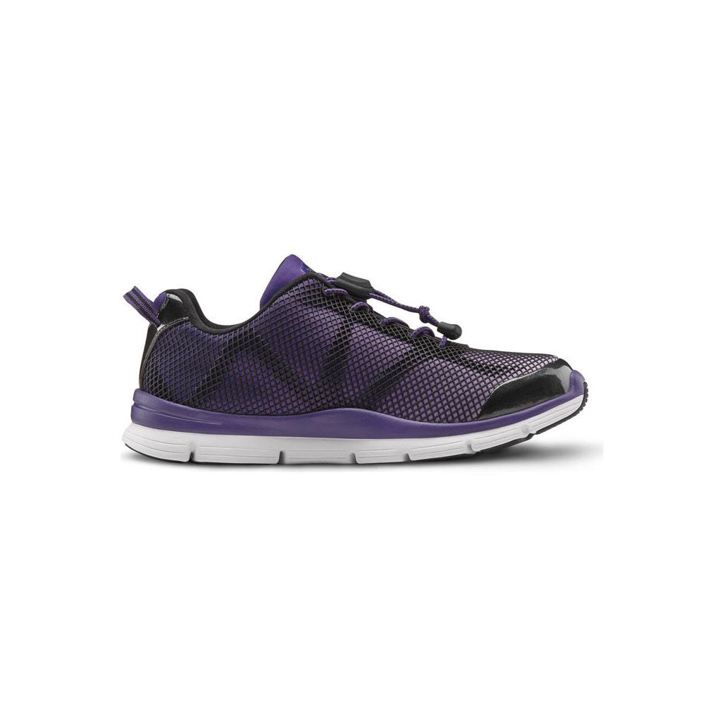 Dr Comfort Katy Purple Outside
