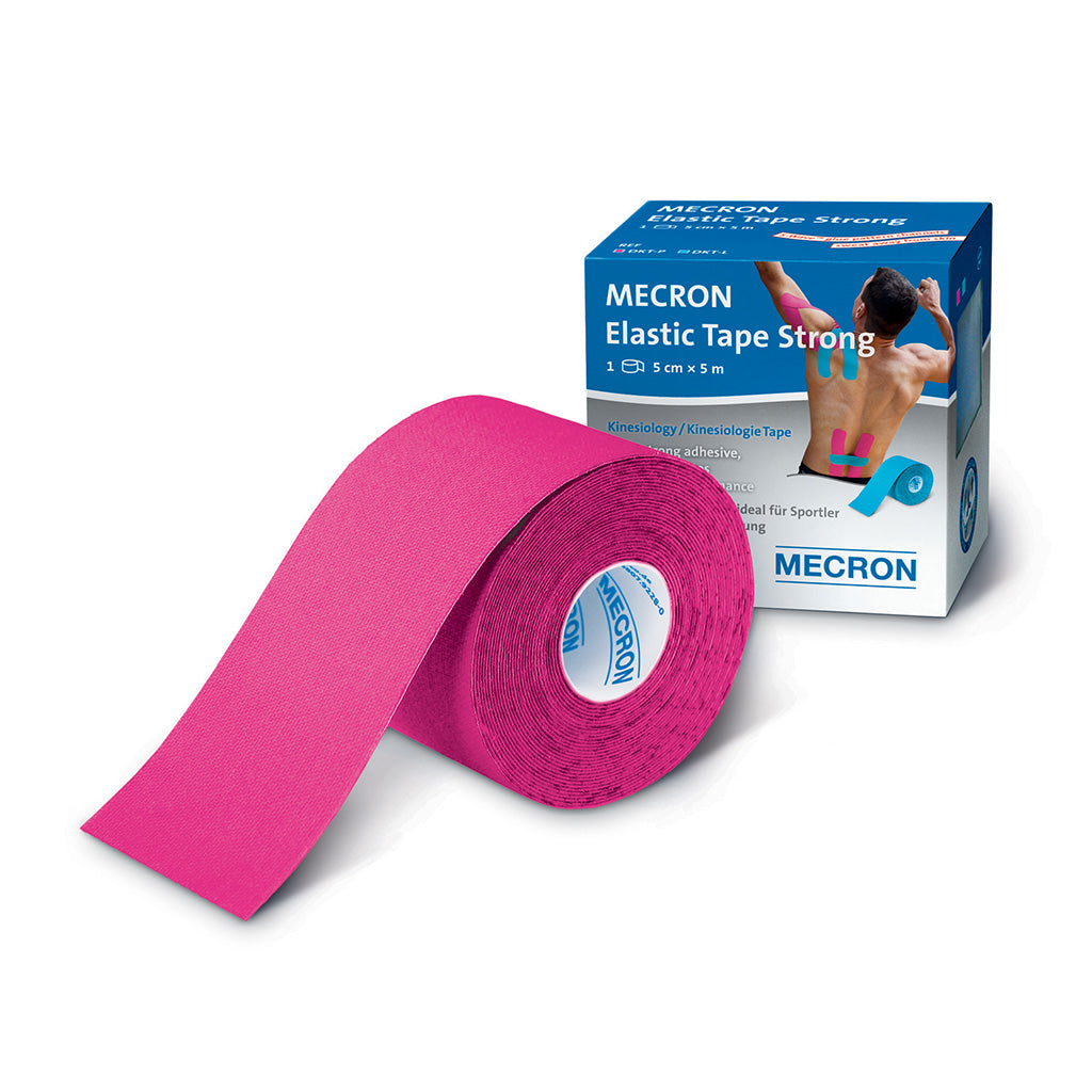 MECRON Strong Elastic Kinesiology Tape Pink