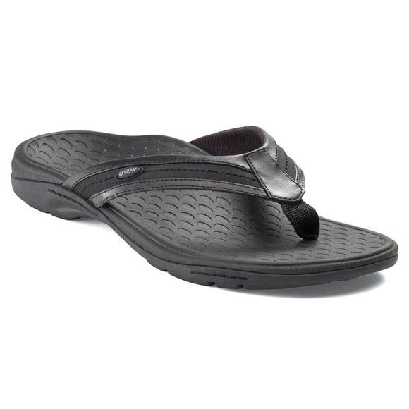 Vasyli Key West Ladies Black Sandal Flip Flop