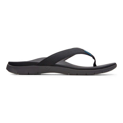 Vionic Islander Mens Black Outside