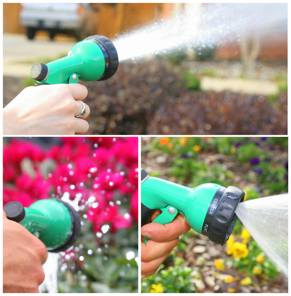 Planted Perfect 7 Pattern Garden Hose Nozzle - Planted Perfect