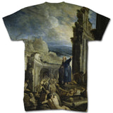 The vision of Ezekiel thug thang all over t shirt - Inct Apparel - 2