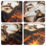 Distinkt Youth Fury Jesus Crew Neck Tshirt - Inct Apparel - 2