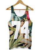 74 honolulu all over vest - Inct Apparel - 1