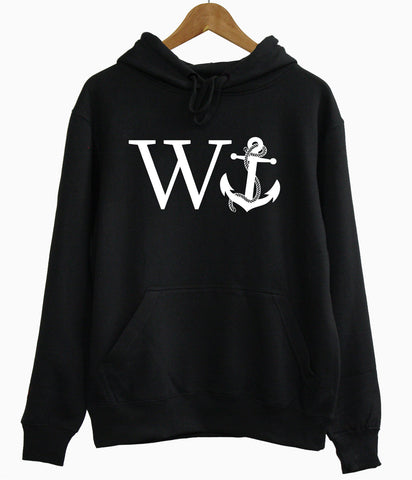 W Anchor Hoodie - Inct Apparel - 1