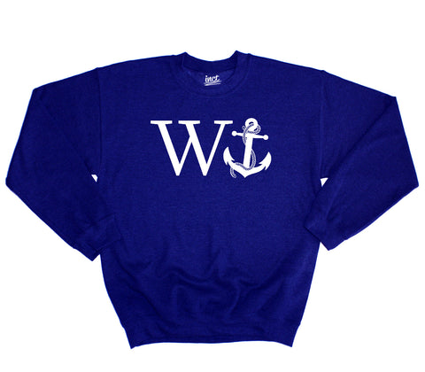 Anchor Sweater - Inct Apparel