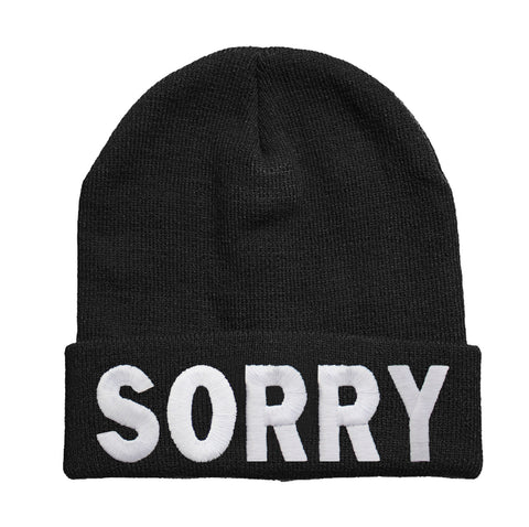 Sorry beanie Hat - Inct Apparel - 1