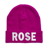 Rose beanie Hat - Inct Apparel - 1