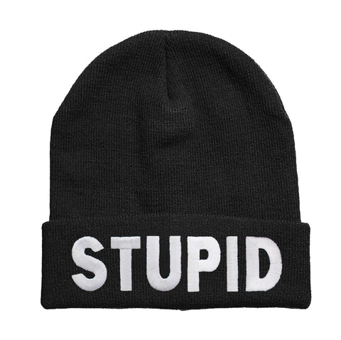 Stupid beanie Hat - Inct Apparel - 1