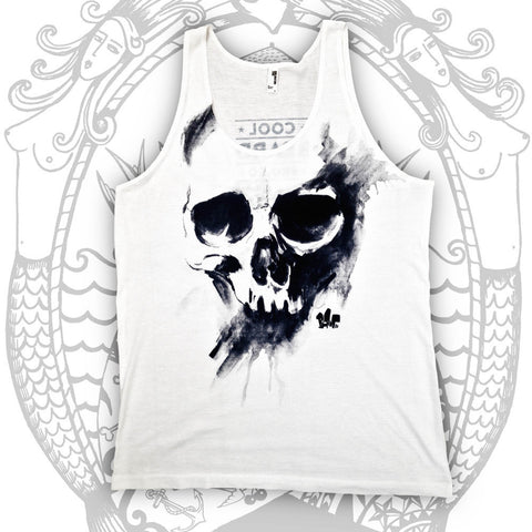 Blam Skull Tank - Cool Beard Bro Co. - Inct Apparel