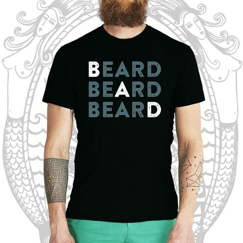 Bad Beard Tee - Cool Beard Bro Co. - Inct Apparel