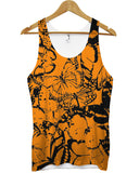 Butterfly Orange All Over Vest - Inct Apparel - 1