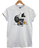 Butterfly Skull T Shirt - Inct Apparel - 1