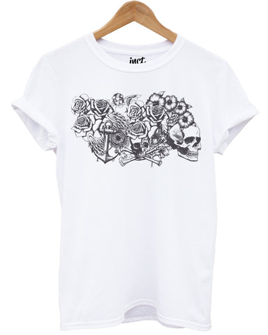 Cherub White T Shirt - Inct Apparel