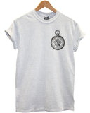 Compass Logo T Shirt - Inct Apparel - 3