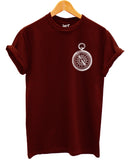 Compass Logo T Shirt - Inct Apparel - 1
