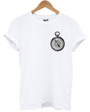 Compass Logo T Shirt - Inct Apparel - 4