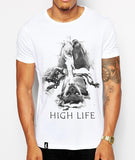 Distinkt Youth The High Life Crew Neck Tshirt - Inct Apparel - 1