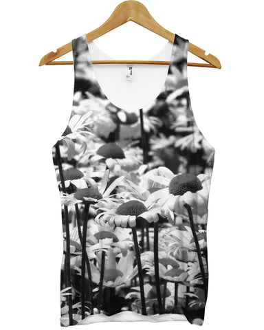 Daisy All Over Vest - Inct Apparel - 1