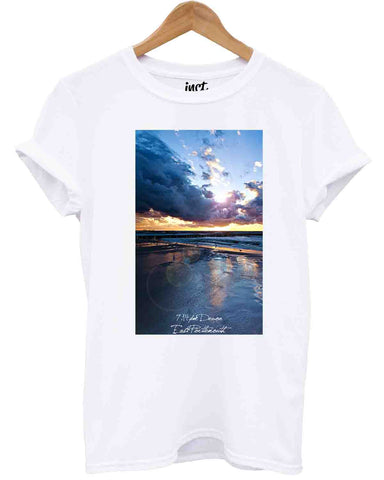 Devon 7.14 White T Shirt - Inct Apparel