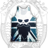 Great British Beard Tank - Cool Beard Bro Co. - Inct Apparel - 1