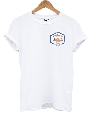 Handcrafted Logo T Shirt F+B - Inct Apparel