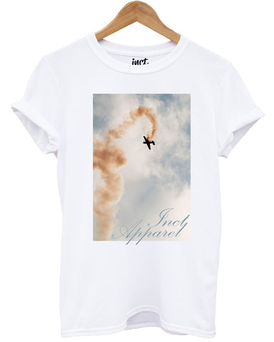 Inct Apparel Flight White T Shirt - Inct Apparel