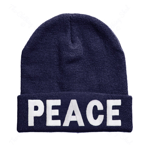 Peace Beanie Hat - Inct Apparel - 1
