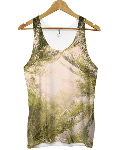 Palm All Over Vest - Inct Apparel - 1