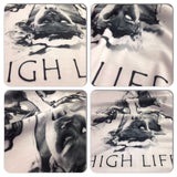 Distinkt Youth The High Life Crew Neck Tshirt - Inct Apparel - 2