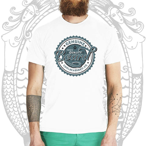Quality Beard Tee - Cool Beard Bro Co. - Inct Apparel