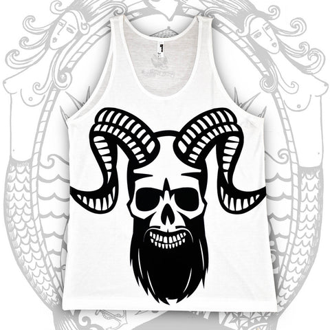 Ramskull Tank - Cool Beard Bro Co. - Inct Apparel