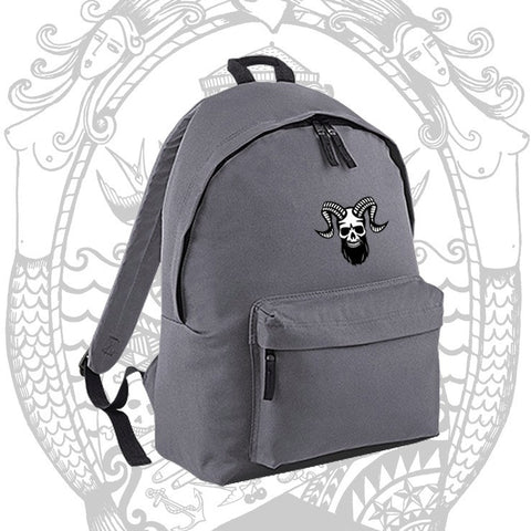 Ramskull Backpack - Cool Beard Bro Co - Inct Apparel