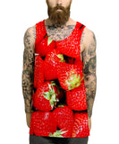 Strawberry All Over Vest - Inct Apparel - 2