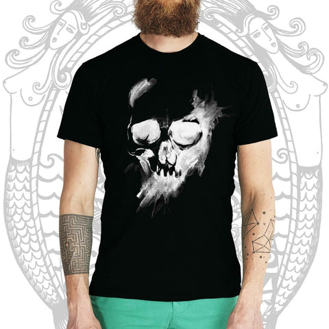 Blam Skull Tee - Cool Beard Bro Co. - Inct Apparel