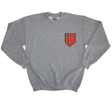 Tartan Pocket Sweater - Inct Apparel - 1