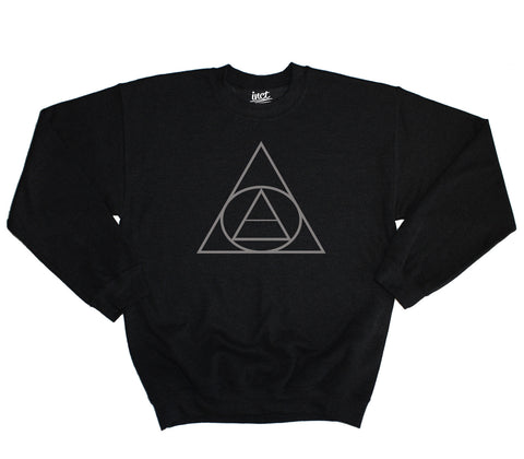 Triangle Circle Sweater - Inct Apparel