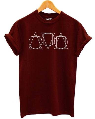 Triangle Rectangle T Shirt - Inct Apparel - 1