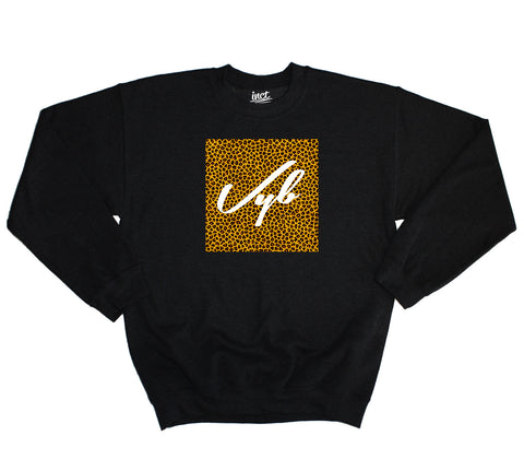 Vyb Box Leopard Sweater - Inct Apparel