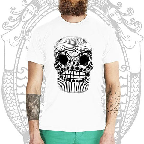 Sugar Skull Tee -  Cool Beard Bro Co. - Inct Apparel - 1