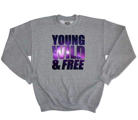 Young wild & free sweater - Inct Apparel