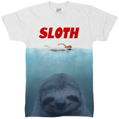 Sloth Jaws All Over T Shirt - Inct Apparel - 1